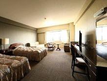 客室(洋室の一例)禁煙室と喫煙室をご用意