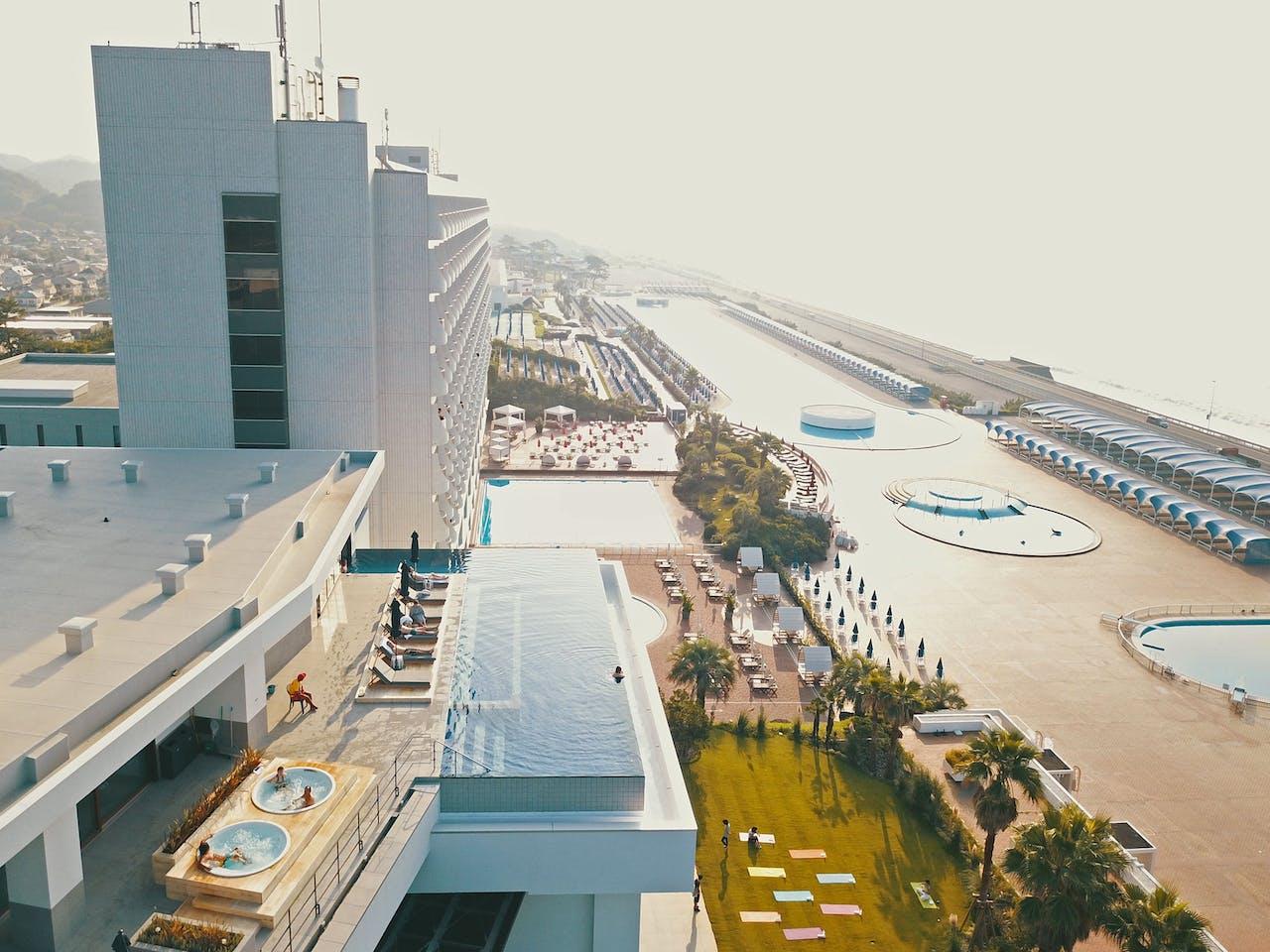 「THERMAL SPA S.WAVE 大磯プリンスホテル」外観イメージ