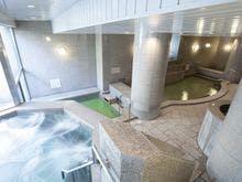 ■天然温泉大浴場「パークサイド・スパ」