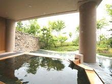 大浴場「月見の湯・露天風呂」