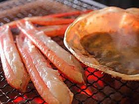 蟹の香りと甘みが素晴らしい炭火焼