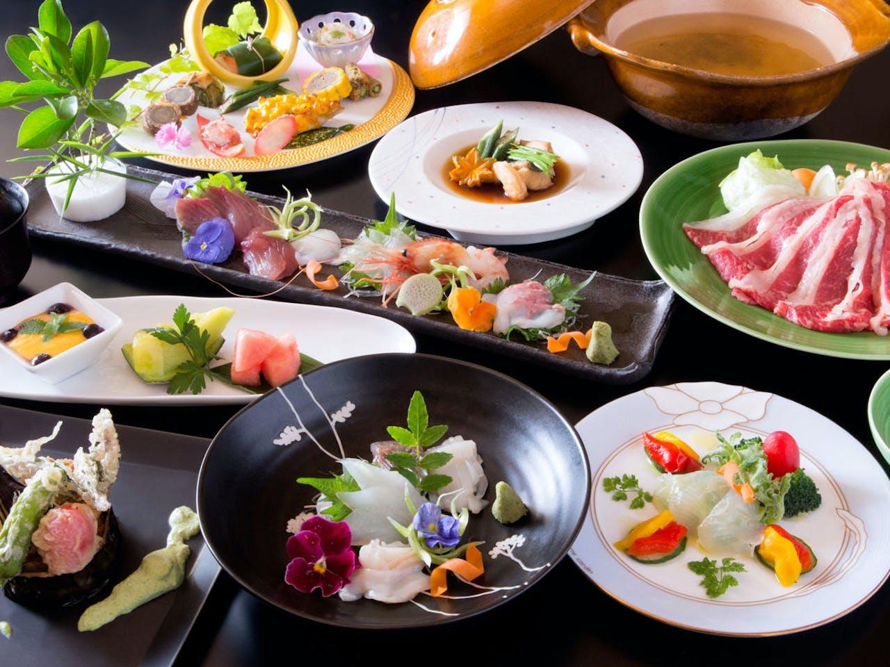 天然の生簀★富山湾の旬の魚たちをご堪能
