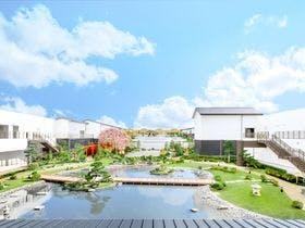 空庭温泉の庭園(イメージ)