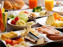 朝食は和洋バイキング(写真はイメージ)