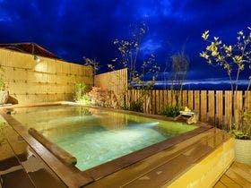 一年間頑張ったご褒美旅を12月に計画しているので、露天風呂のある伊香保温泉の宿を教えて