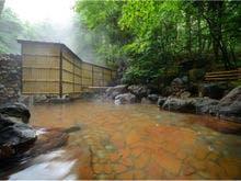 ■温泉露天風呂 松川国有林に源泉を持つ