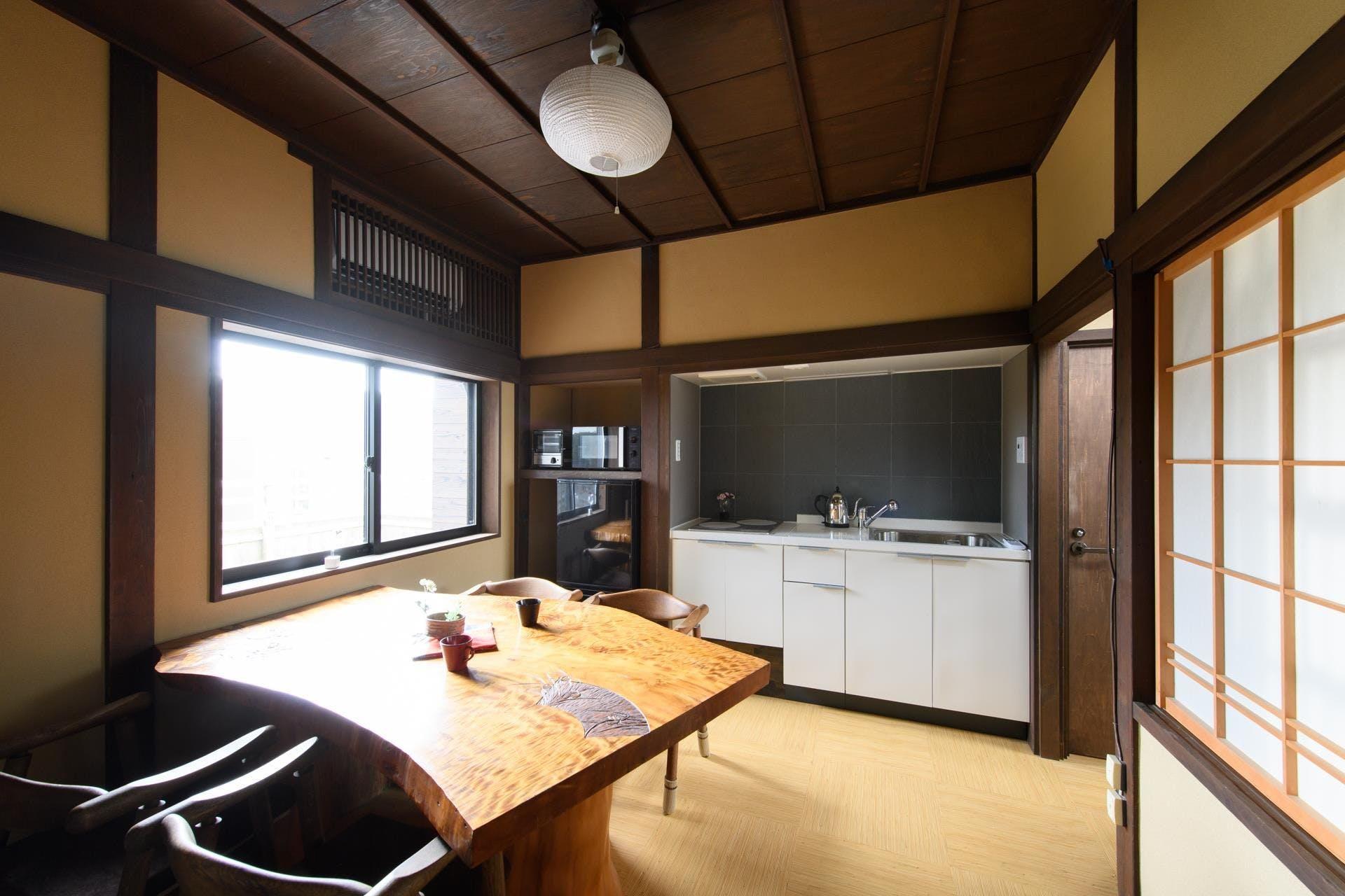 快適な設備で暮らすように金沢を楽しむ