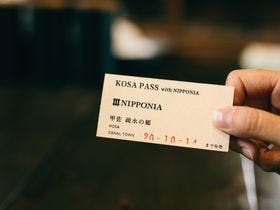 KOSA PASS with NIPPONIA