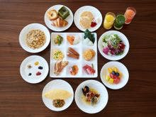 本館30階GOCOCU 朝食ブッフェ一例