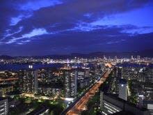 本館高層階からの夜景 一例