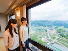 高層階のお部屋から見える景色は絶景です!