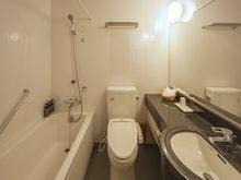 シングル・セミダブルルームのバスルーム