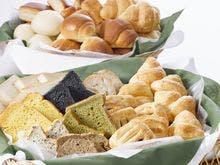 「嵯峨野」朝食ビュッフェのパン(一例)