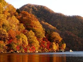 中禅寺湖 秋