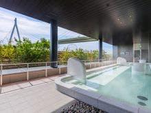 子供の夏休みに合わせてUSJと大阪市内観光をしたいです。サクッと泊まれる温泉宿は?