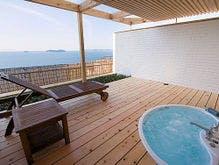 庭園露天風呂付客室【星の林】