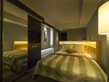 セミダブルルーム室内一例(夜)