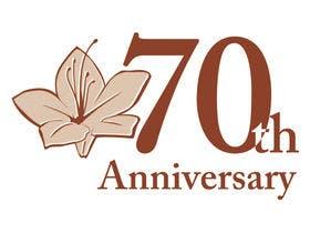 開業70周年ロゴマーク