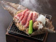 信州牛の味噌焼き