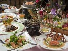 特選ディナー(舟盛りは別注6500円)