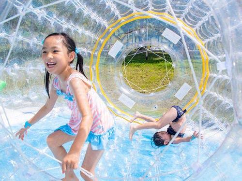 「カヌチャベイホテル  ウォーターキッズガーデン 沖縄 フリー画像」の画像検索結果