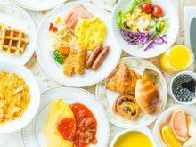 ブッフェレストラン 朝食一例