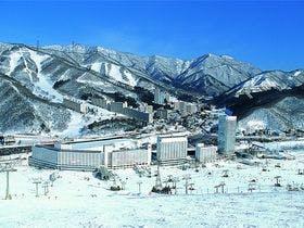 近くにスキー場のある露天風呂付きのホテル