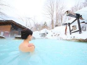 【冬】混浴露天と女性