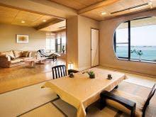 飛島館suite 専用露天風呂付和洋室