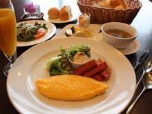 朝食一例(セットメニュー)