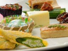 ■旬の食材をふんだんに使った和食(一例)