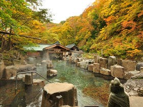 『摩訶の湯』秋