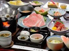 お勧め「竹」膳、当館のスタンダードな夕膳