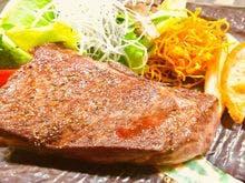 選べるプランのステーキ
