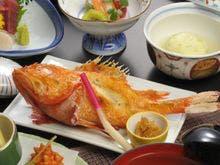 選べるプランの「吉次」の姿焼き