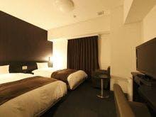 ■ツインルーム18.5平米シモンズ社製ベッド