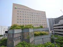 緑に囲まれたホテル 外観