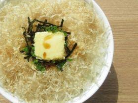 朝食イベント:高級糸削り節 マグロ節丼