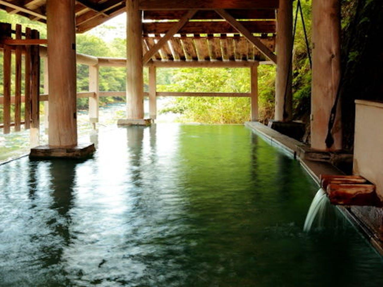 【河原の湯】名取川を眼下に愉しむ秘湯処