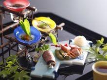 夏の会席料理(前菜)例