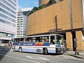 伊丹行き空港バスがホテル西玄関より発着