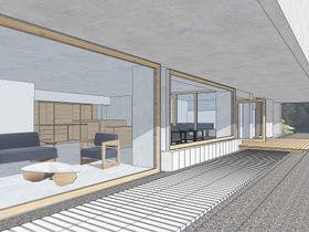 SAZANAMI Lounge
