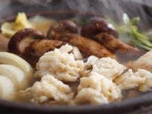 錦秋鱧と松茸、淡路玉葱のすき鍋※イメージ