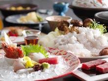 錦秋鱧や淡路牛を使った料理イメージ