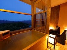 露天風呂からの眺望をお愉しみ下さい。