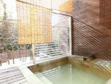 「ざぜんそう」には、にごり湯の露天風呂