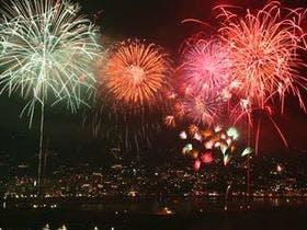 【花火大会】湯河原に泊り熱海で花火も人気