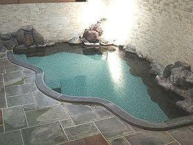 【ご婦人風呂】優美な曲線の懐かしい雰囲気