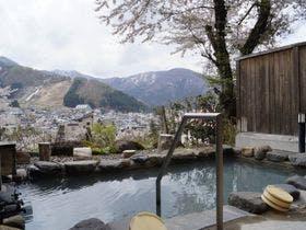 子連れで行ける貸切風呂のある野沢温泉の宿を教えてください。