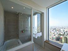 デラックスコーナーツイン(ビューバス) バスルーム 一例